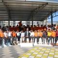 4.sınıflarımız Trafik Eğitim Parkı'nda