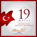 19 Mayıs Atatürk'ü Anma Gençlik ve Spor Bayramımız