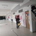 Okulumuz dezenfekte edildi...